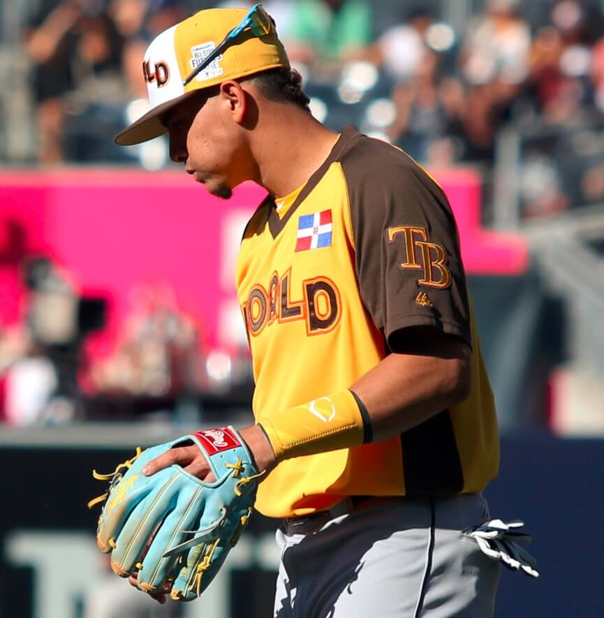 Willy Adames Rawlings Glove