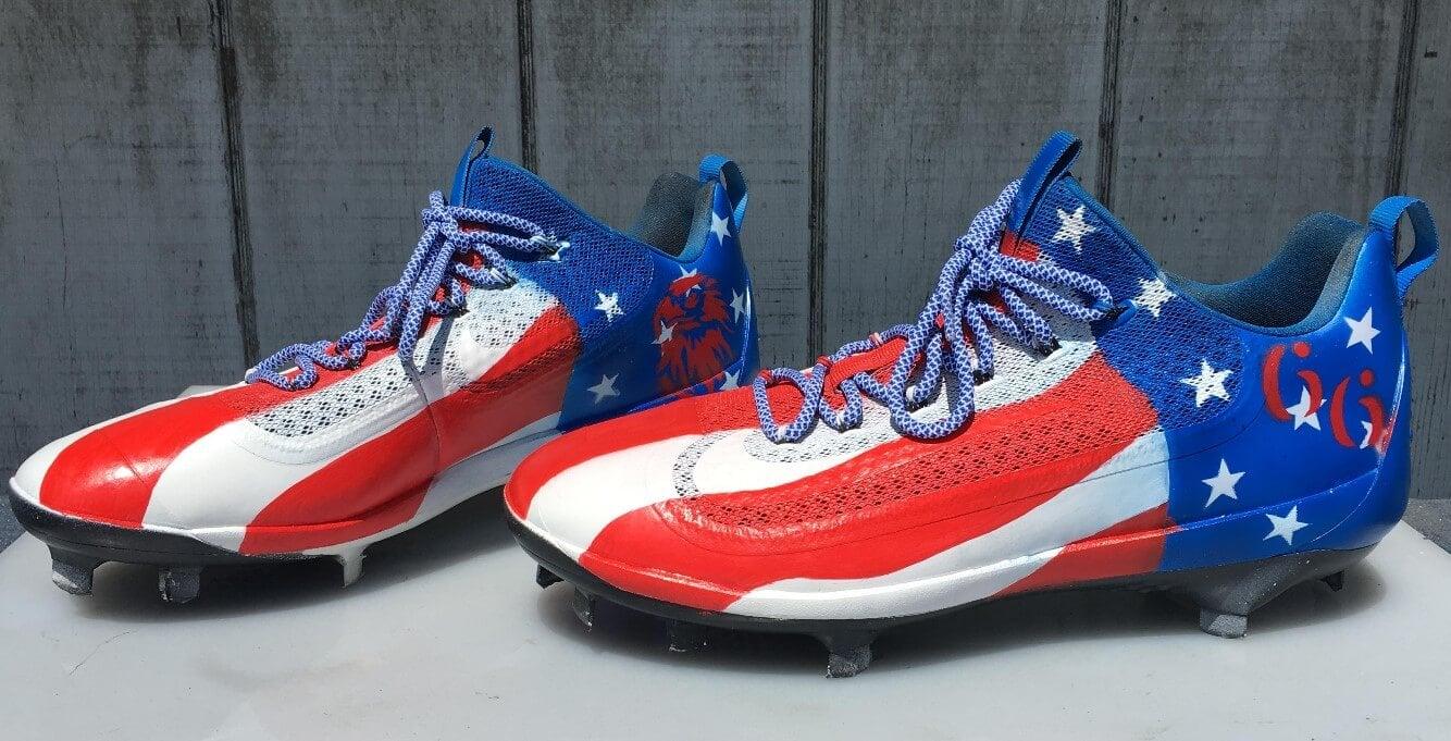 Yasiel Puig Nike USA Cleats 2