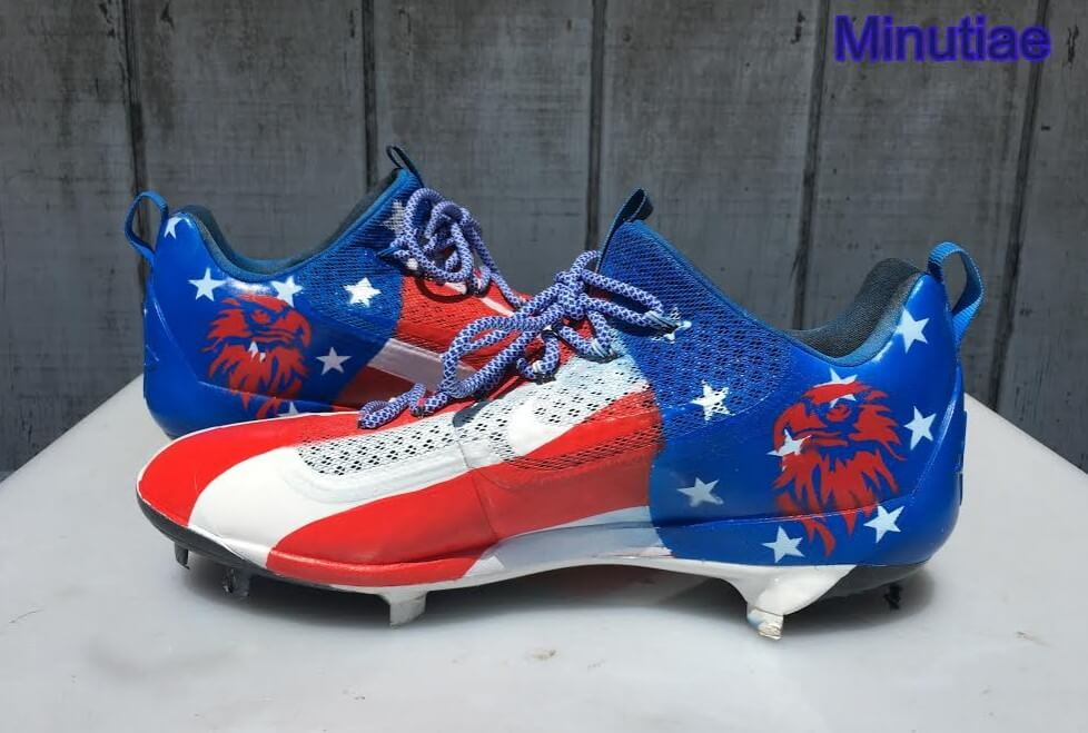 Yasiel Puig Nike USA Cleats