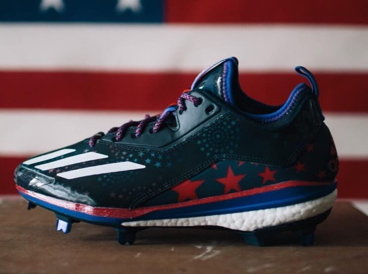 adidas Stars and Stripes Boost Icon 2.0 Cleats 2