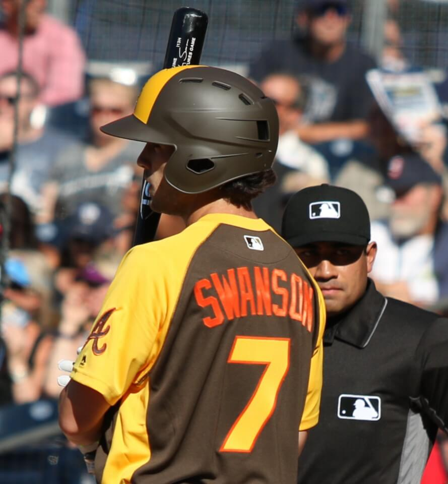 Dansby Swanson Louisville Slugger I13H Bat