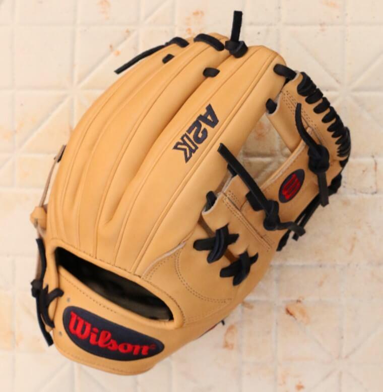 Dansby Swanson Wilson A2K 1787 Glove 2