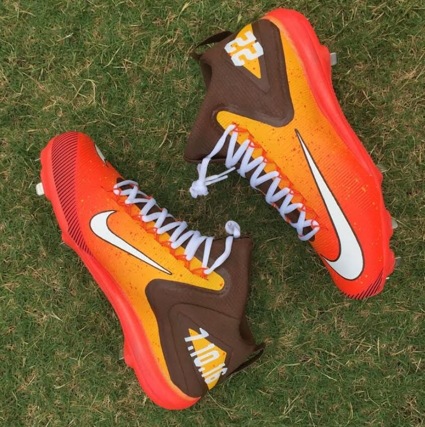 Dominic Smith Nike Trout 3 Cleats