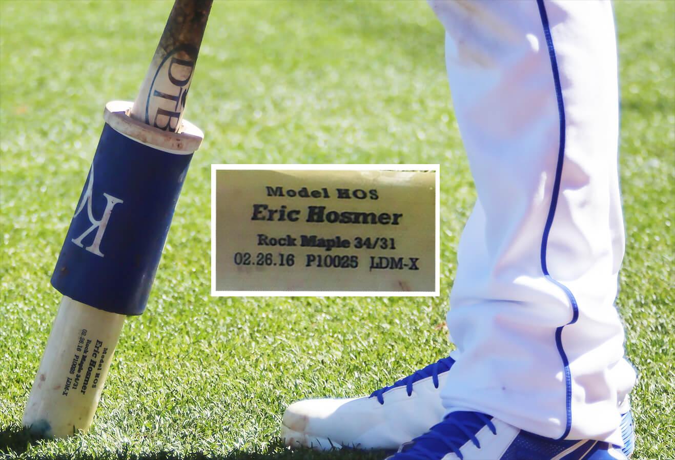 Eric Hosmer DTB HOS Bat