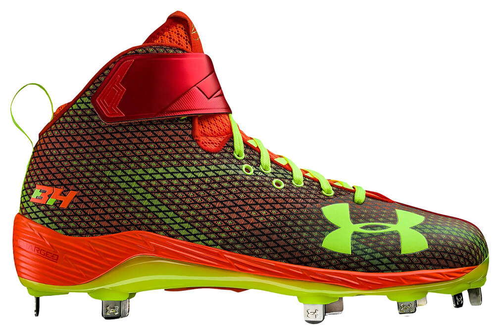 Harper One Neon Sunrise Cleats