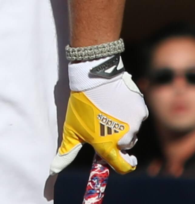 Hunter Renfroe adidas Batting Gloves