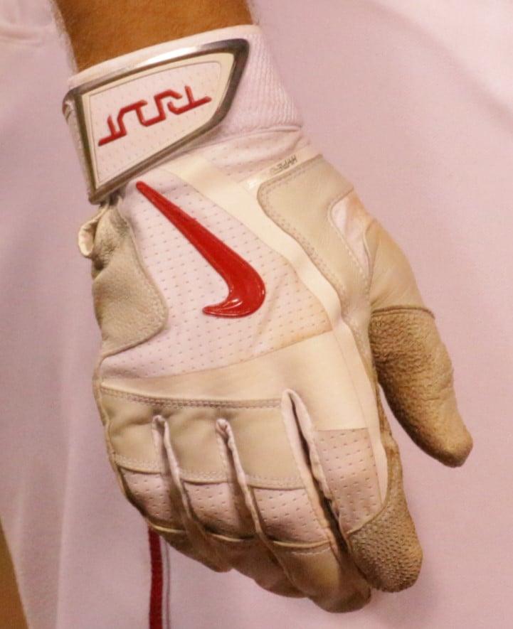 Nike Batting Gloves Orange: What Pros Wear Mike Trout's Nike MVP Elite Batting Gloves