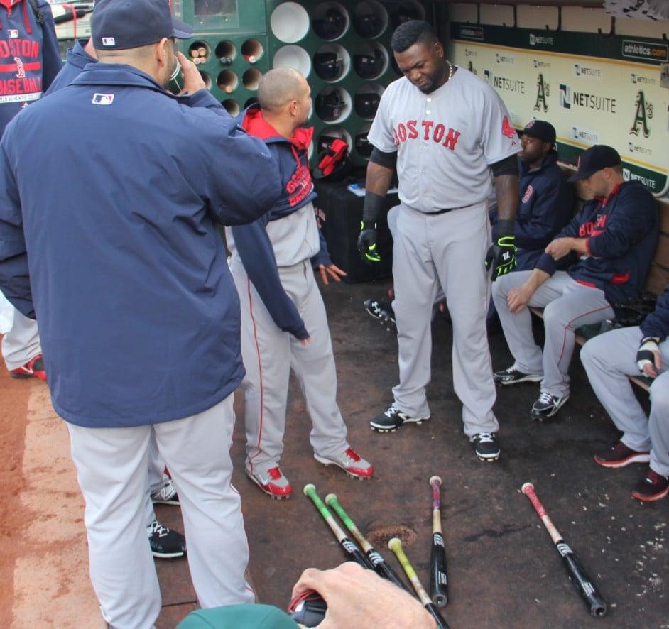 Ortiz picks his bat