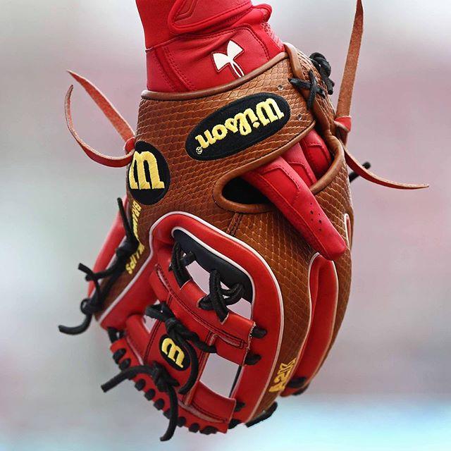 Brandon Phillips' Wilson A2K DATDUDE Glove