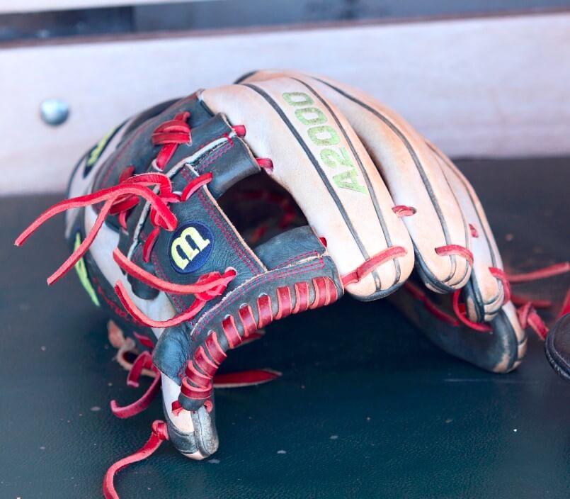What Pros Wear Carlos Correas Wilson A2000 1787 Glove
