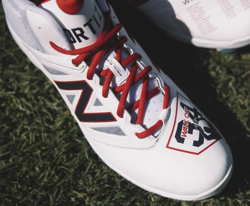 David Ortiz New Balance Retirement Cleats 14