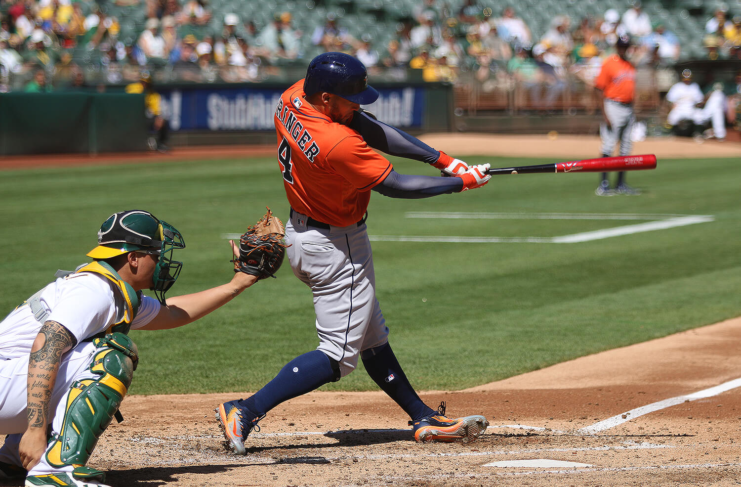 George Springer Hitting 2