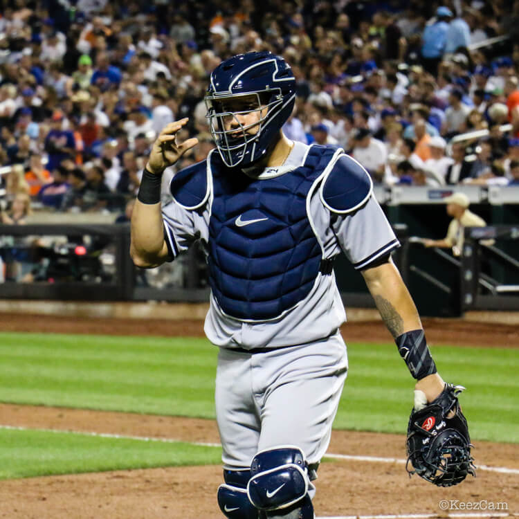 What Pros Wear Gary Sanchez' Evoshield Wrist Guard What