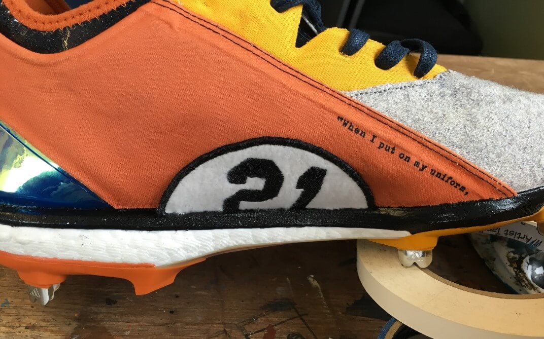 Roberto Clemente Day Cleats