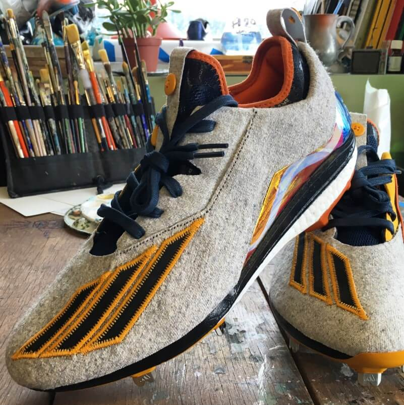 adidas Boost Icon 2 Roberto Clemente Day Cleats