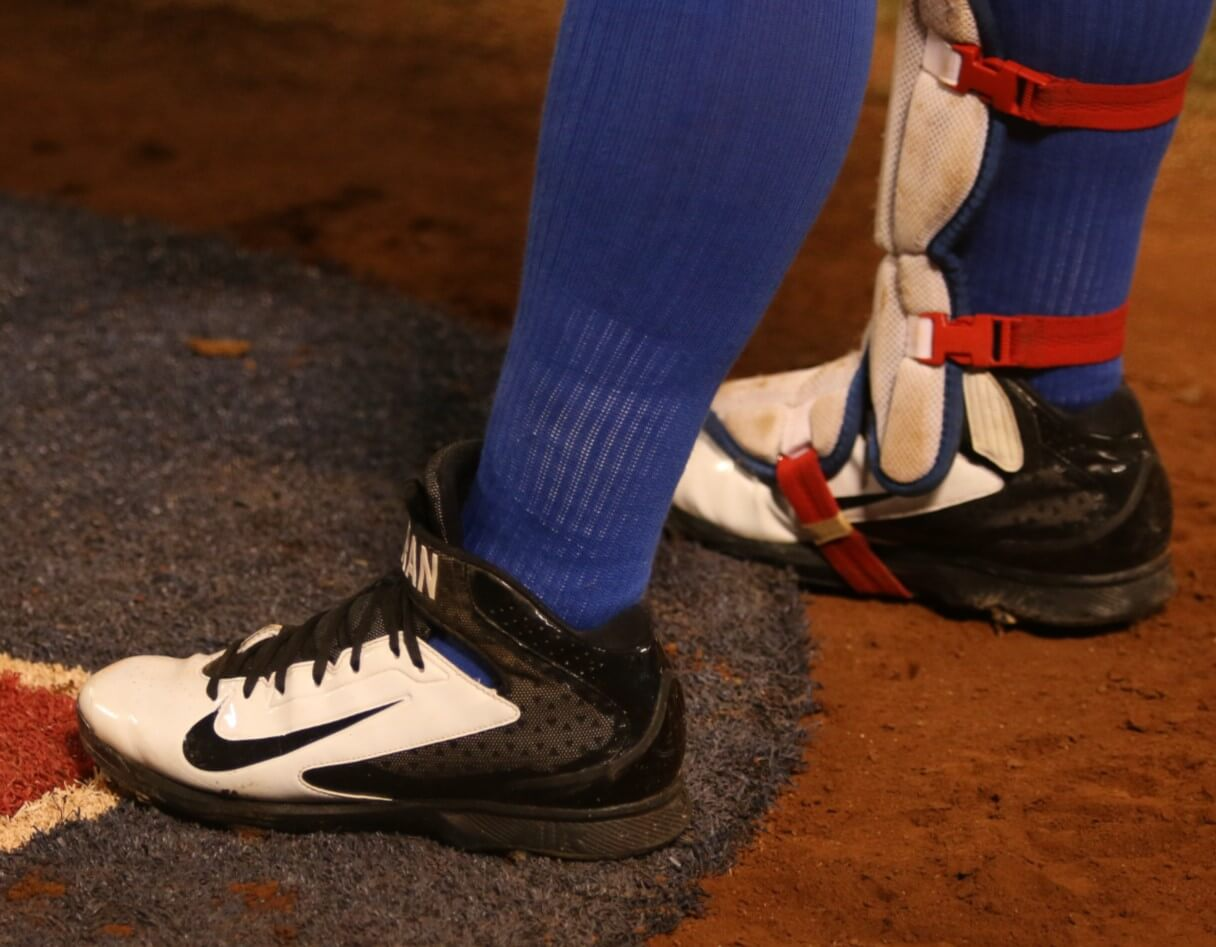 32f14f633 Rougned Odor s Nike Huarache Pro Cleats