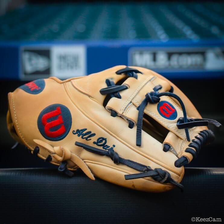Dansby Swanson Wilson A2K 1787 Glove 3