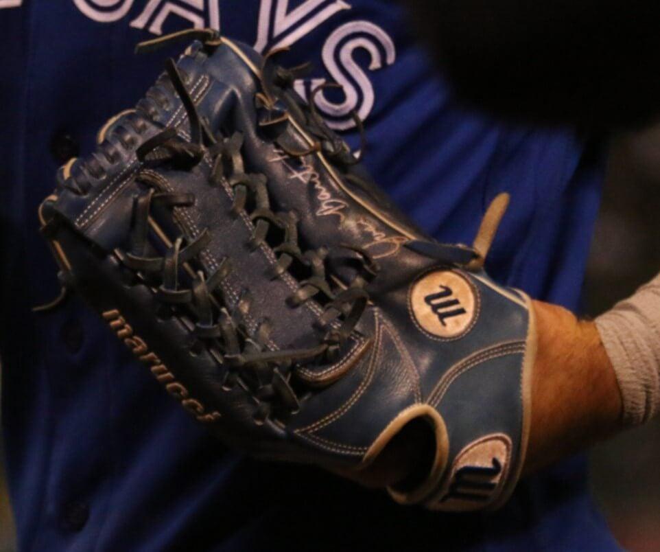 Jose Bautista Marucci Glove 5
