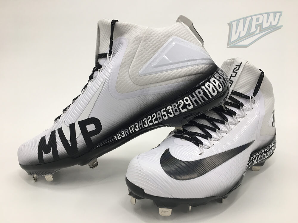 Mike Trout MVP 2016 Cleats 2