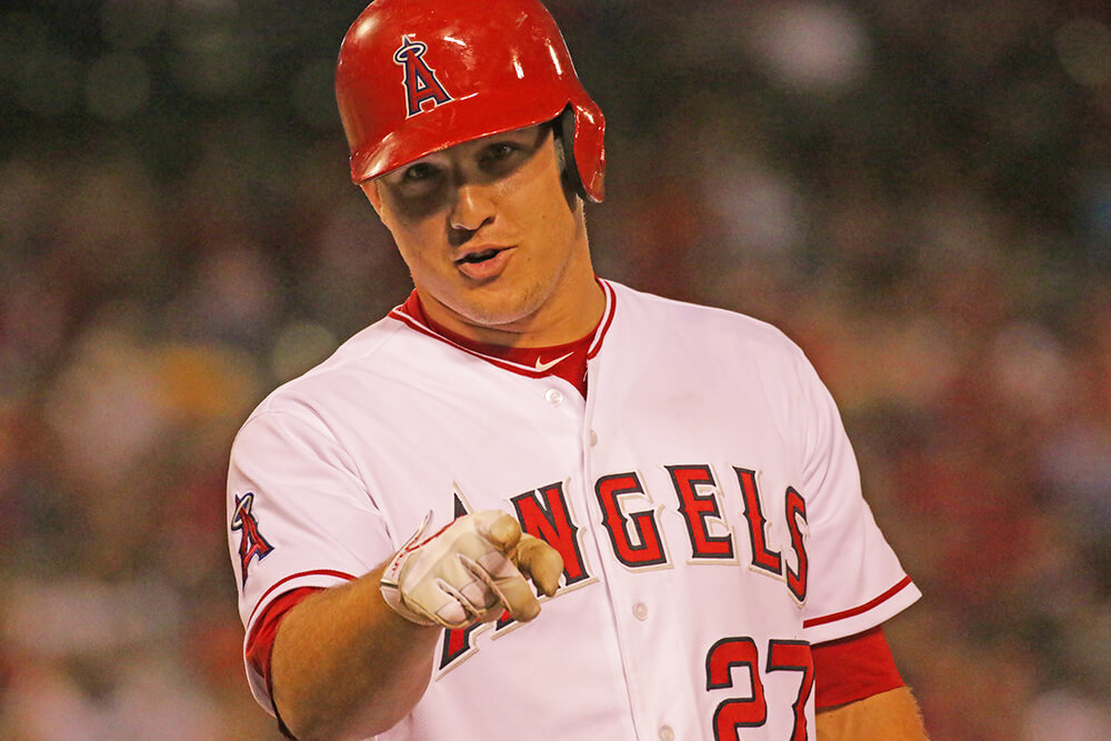 mike trout point