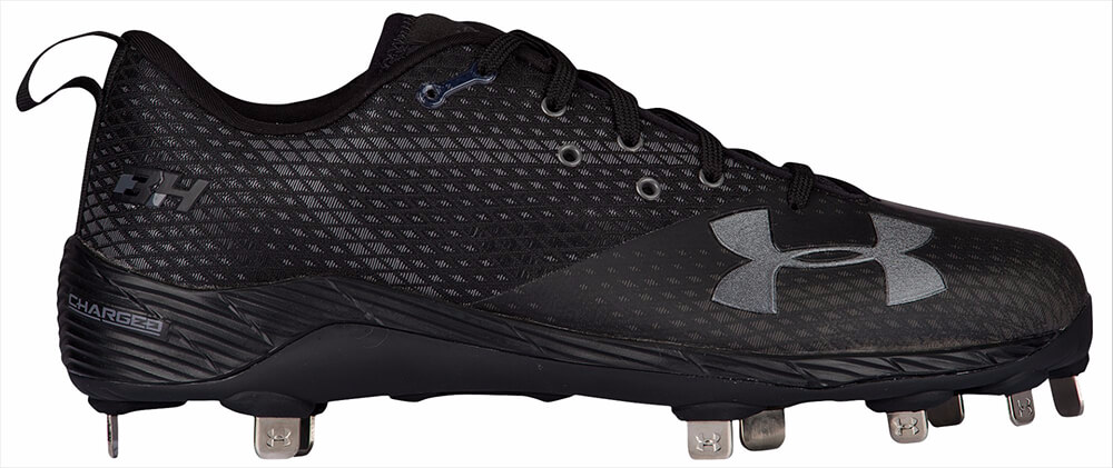 Black Harper One Low Cleats