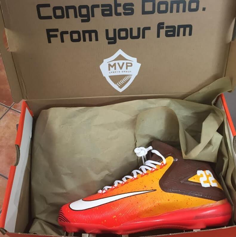 Dominic Smith Nike Trout 3 Cleats 4