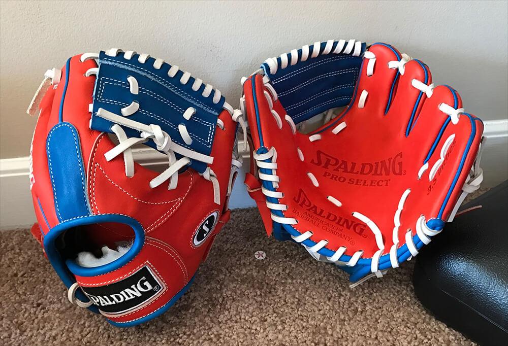 Spalding Training Gloves Cubs 2