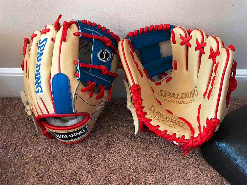 Spalding Training Gloves Cubs 3