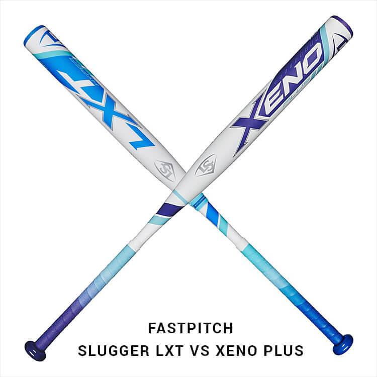 What Pros Wear: Louisville Slugger Xeno Plus vs LXT Hyper