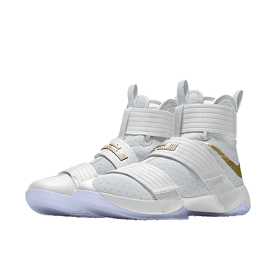 """Lebron Soldier X """"Game 6"""" as created on NikeID"""