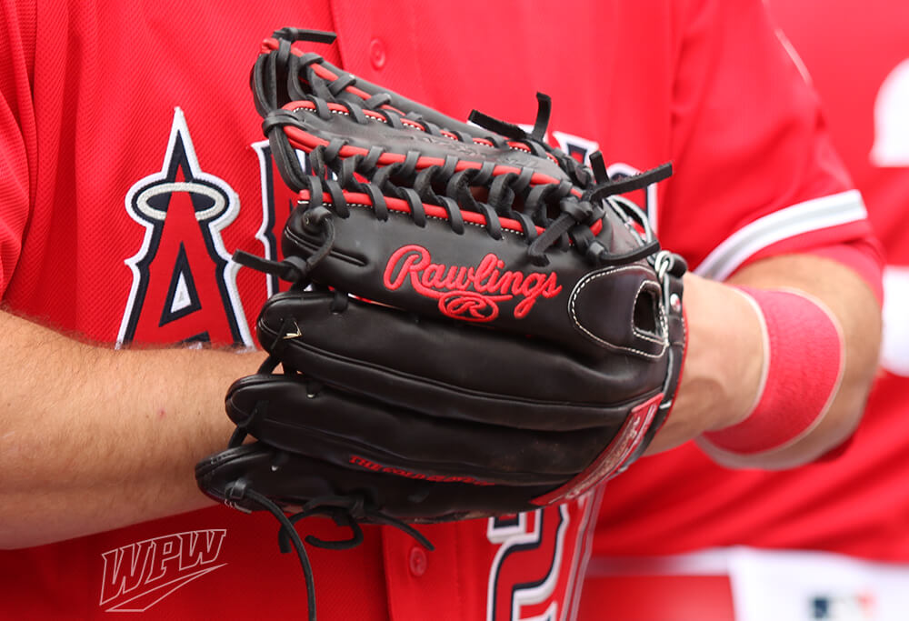 what pros wear mike trout s rawlings pro preferred prosmt27 glove