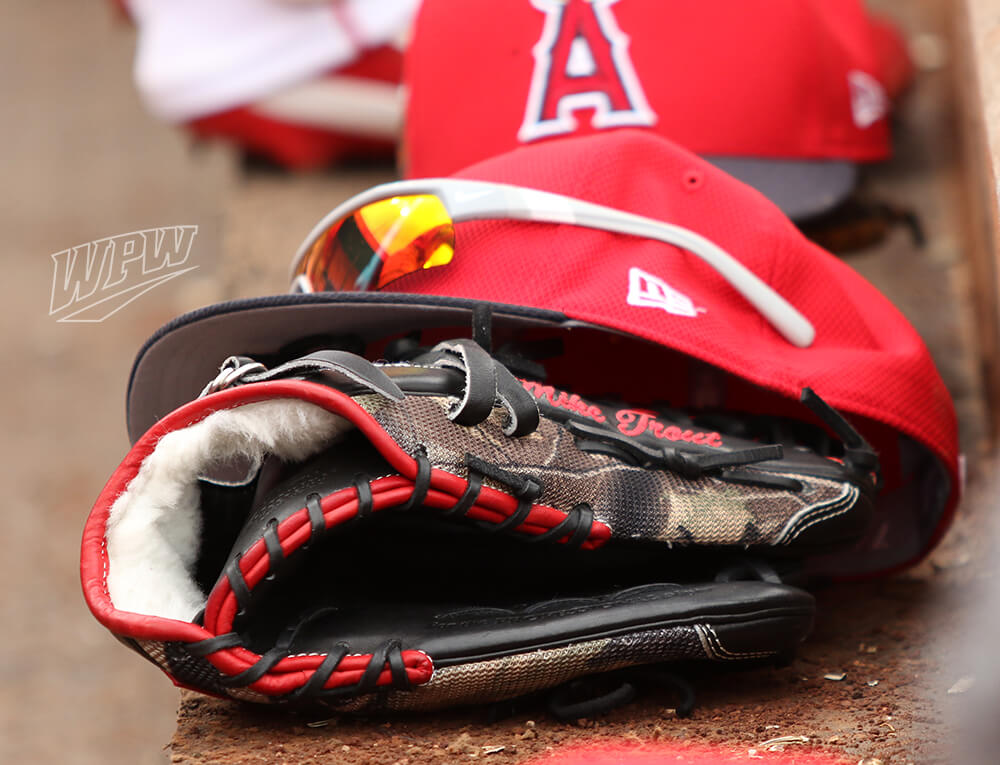 Mike Trout Rawlings Glove 2