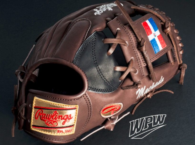 Manny Machado Brown WBC Glove