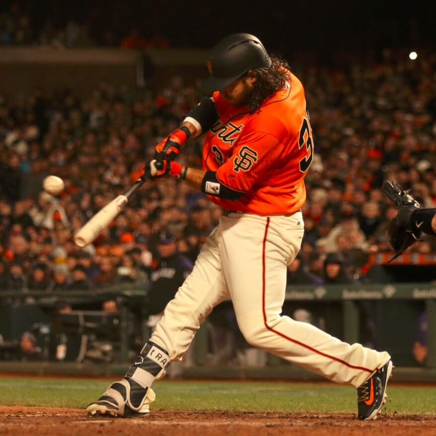 Brandon Crawford Swing