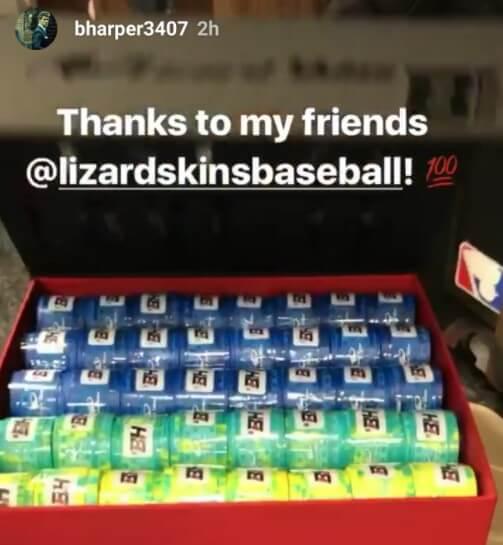 Bryce Harper Lizard Skins