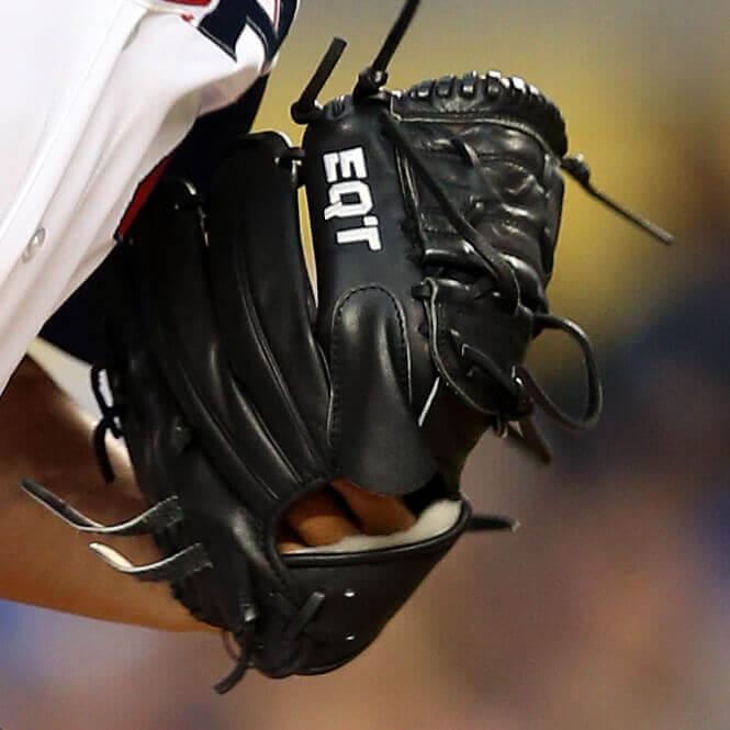 What Pros Wear Chris Archer S Adidas Eqt Glove What Pros Wear