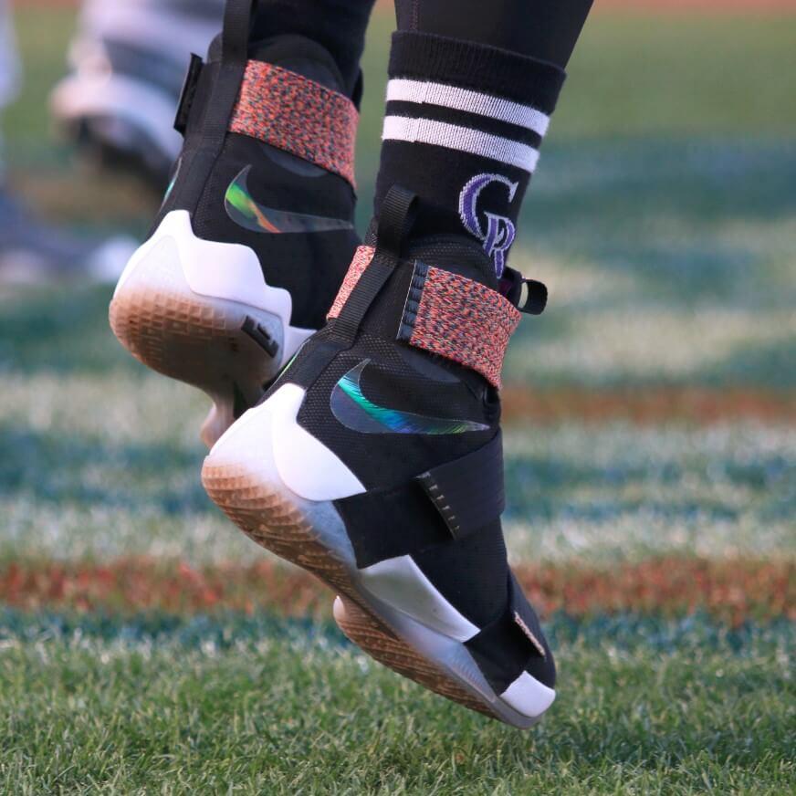 Trevor Story Nike LeBron Soldier 10 Shoes
