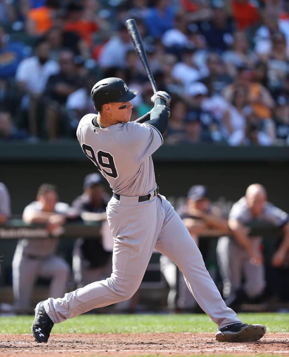 Aaron Judge Bat Swing