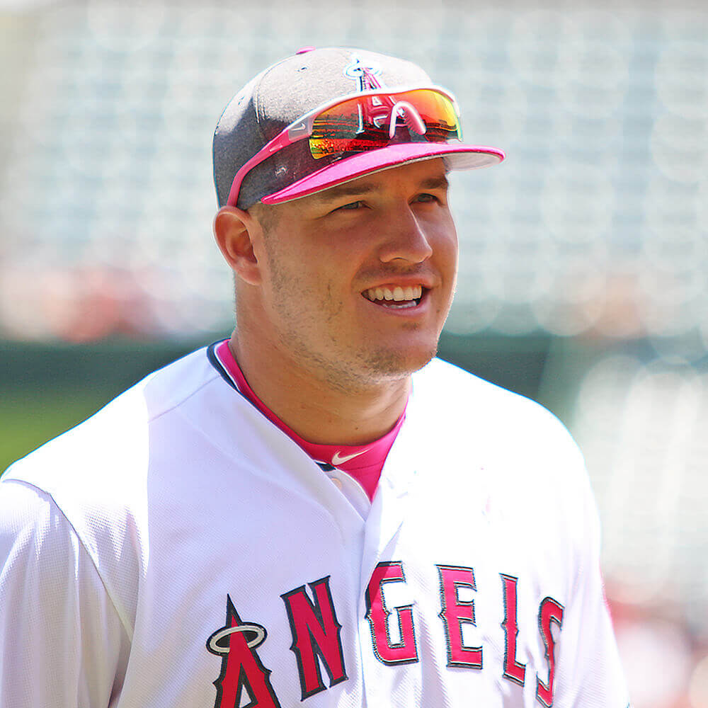 Mike Trout sunglasses