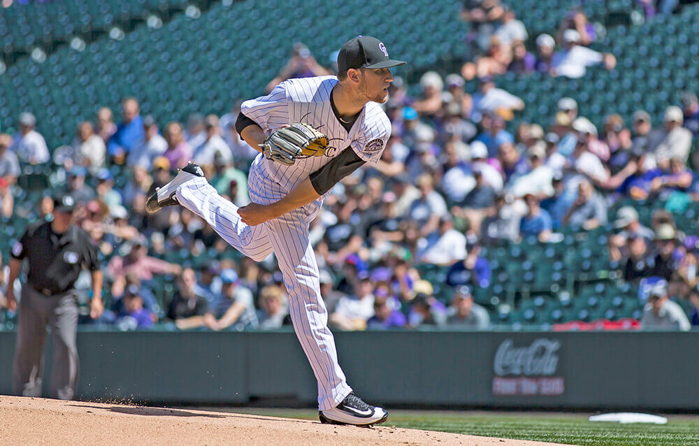 Kyle Freeland Pitching