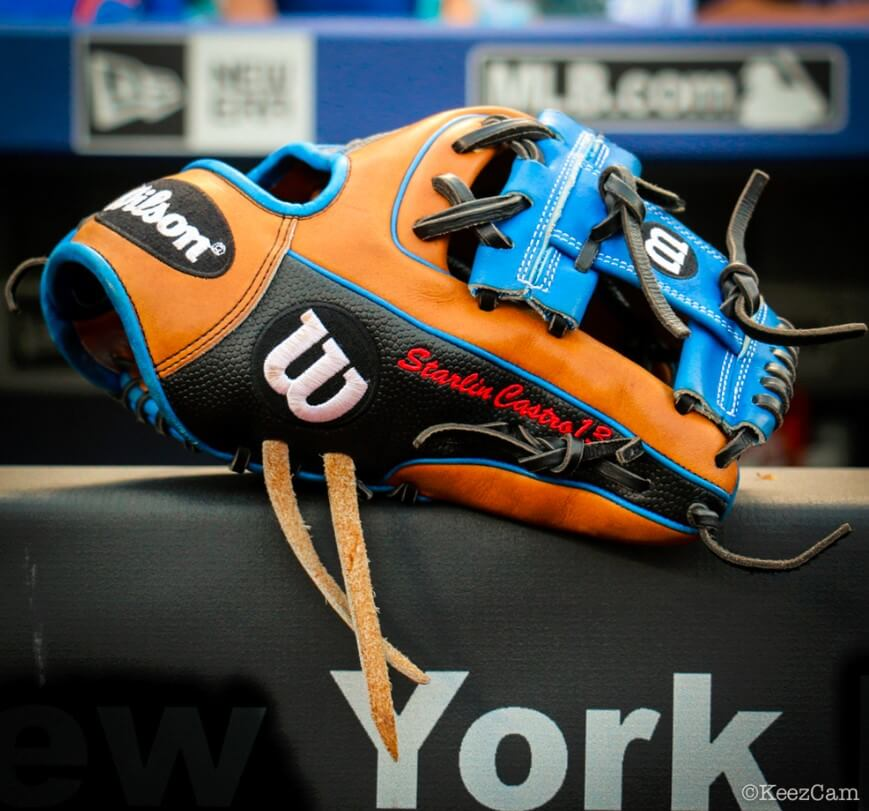 Starlin Castro New Glove