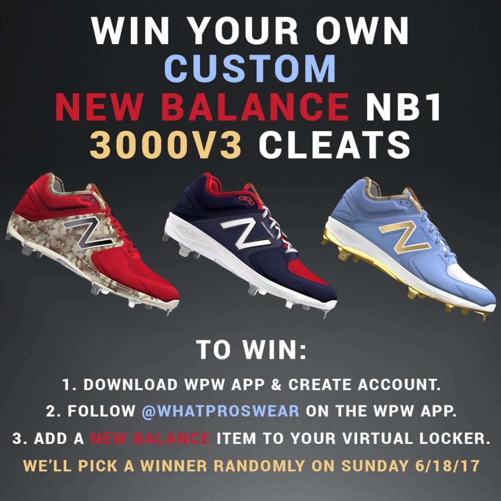 new balance 3000v3 giveaway