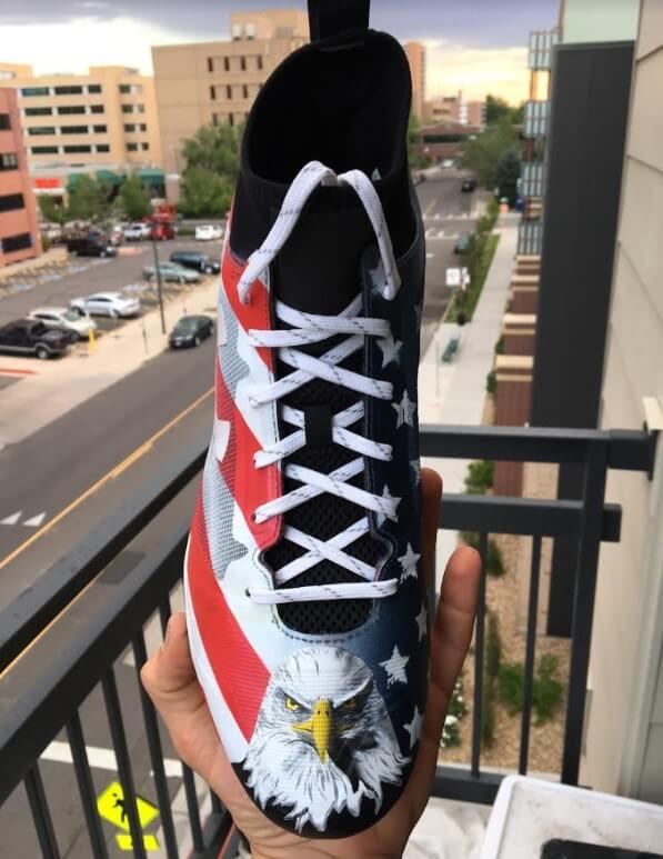 303 Custom Cleats 4th
