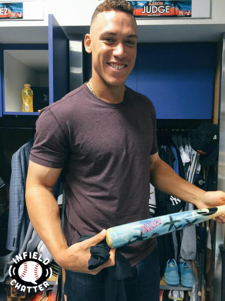 Aaron Judge Derby Bat
