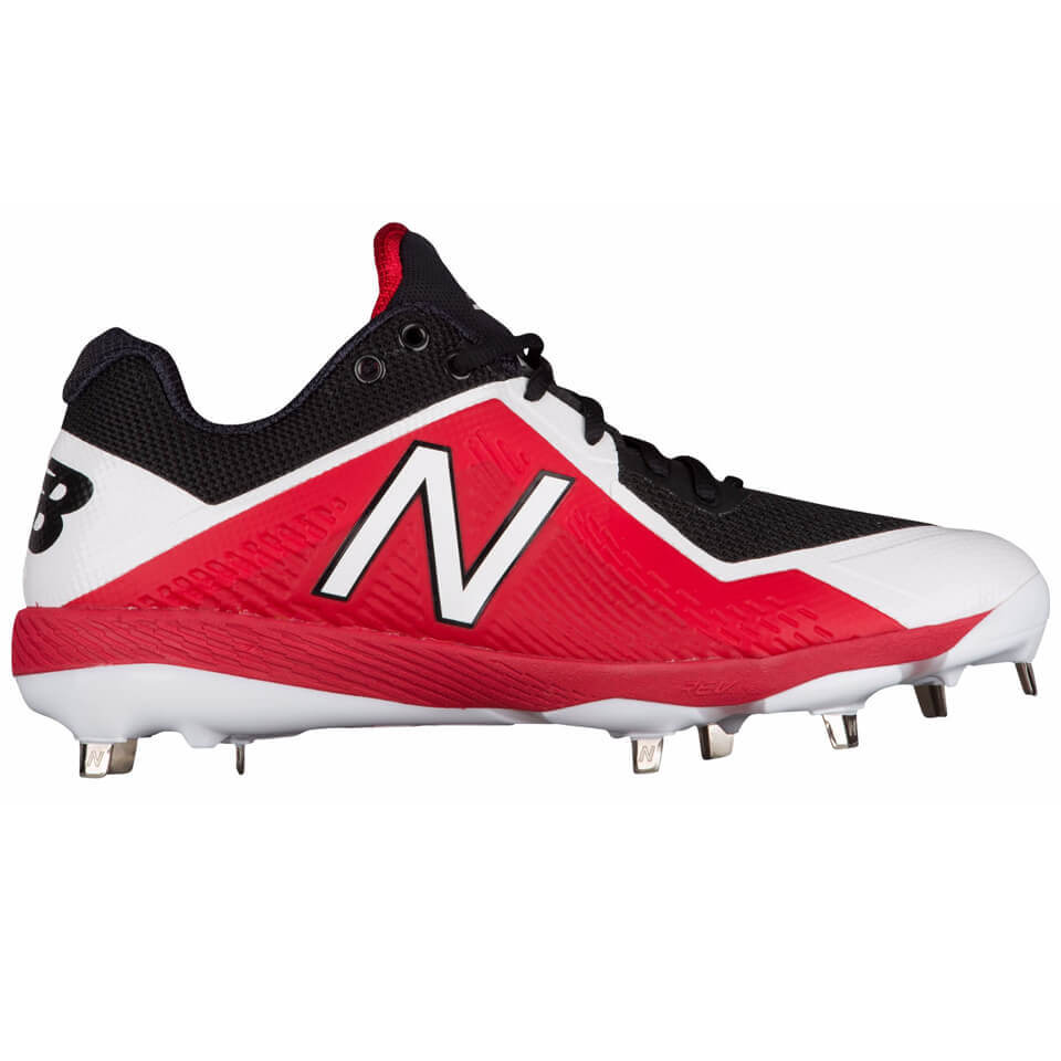 New Balance 4040v4 Cleats Red