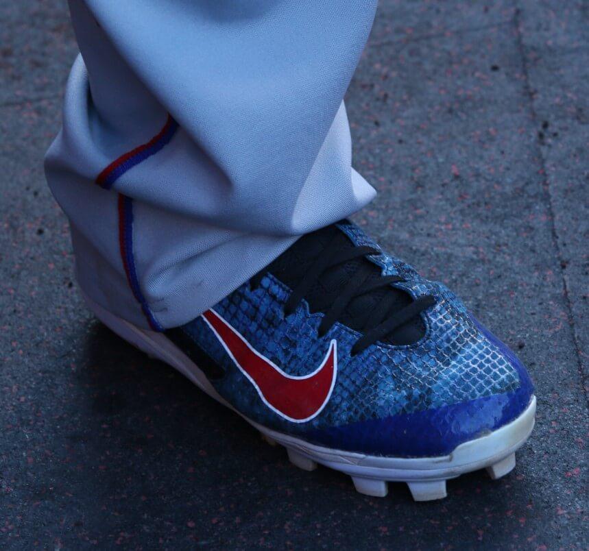 Adrian Beltre Nike Huarache Pro Cleats 2