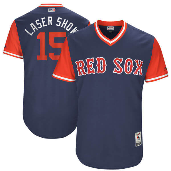 Pedroia Laser Show Jersey