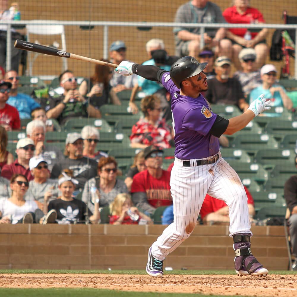 Nolan Arenado Home Run