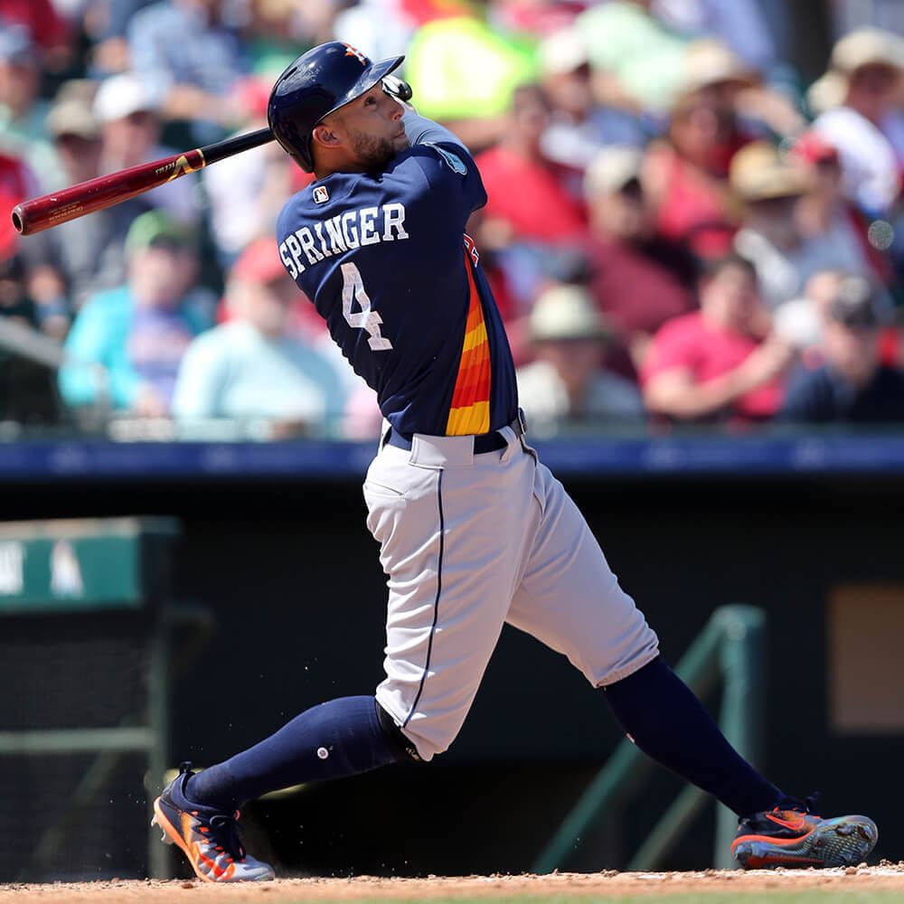 George Springer Bat World Series