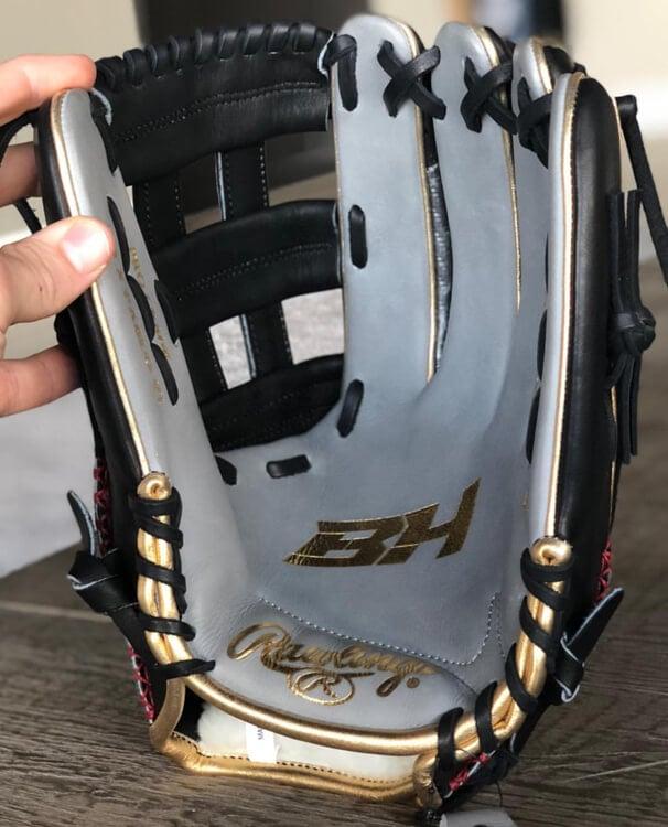 Bryce Harper Rawlings Glove 2018-1